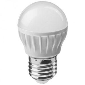 Лампа светодиодная OLL-G45-8-230-4K-E27 ОНЛАЙТ