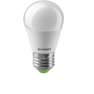 Лампа светодиодная OLL-G45-10-230-4K-E27 ОНЛАЙТ