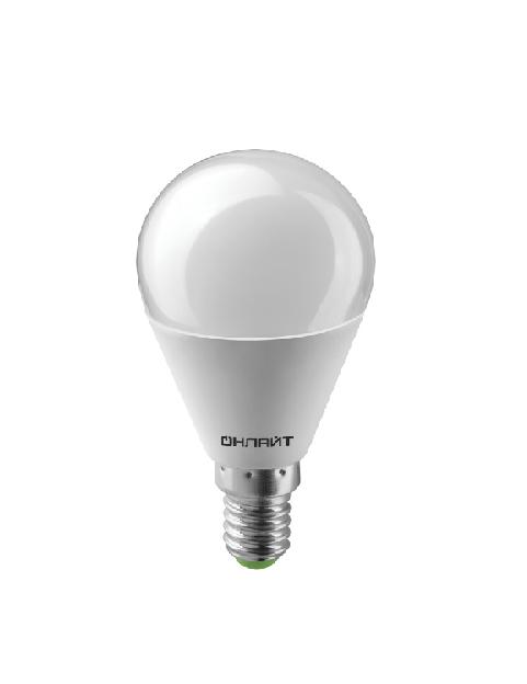 Лампа светодиодная OLL-G45-10-230-4K-E14 ОНЛАЙТ