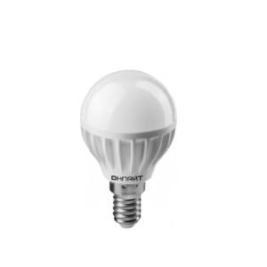 Лампа светодиодная OLL-G45-8-230-4K-E14 ОНЛАЙТ