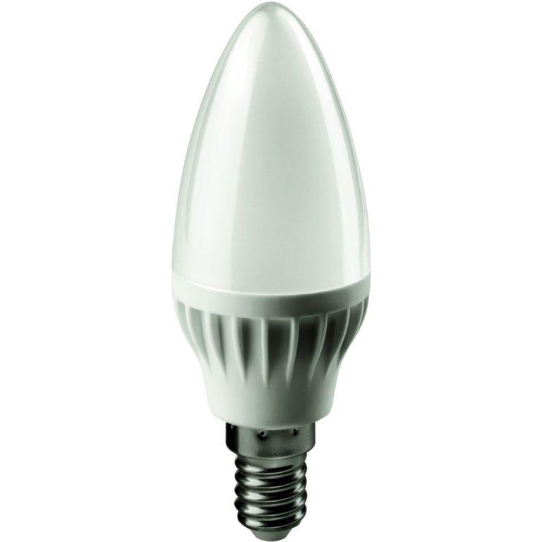 Лампа светодиодная OLL-C37-6-230-2.7K-E14-FR ОНЛАЙТ