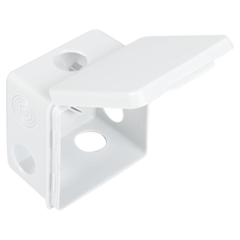 Коробка распределительная КР 80х80х50мм, 7 вх. (гермовводы), IP54