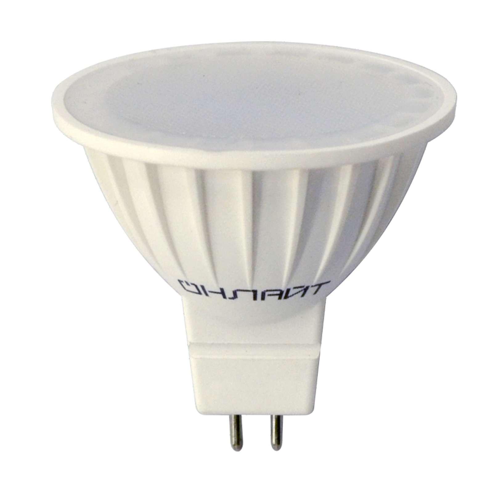 Лампа светодиодная ОLL-MR16-5-230-3K-GU5.3 ОНЛАЙТ
