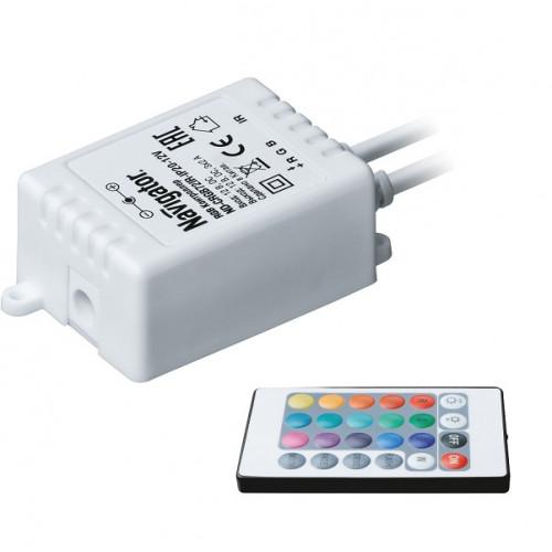 Контроллер для создания статических и динамических сцен Navigator ND-CRGB72IR-IP20-12V