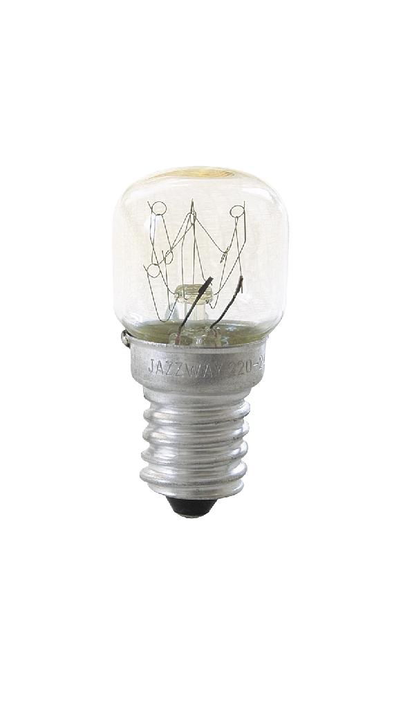 Лампа накаливания Т22-15Вт-Е14-220В-300гр (для духовок)