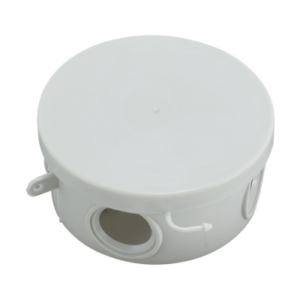 Коробка распределительная КР 85х40мм (круглая), 4 вх. (гермовводы), IP54