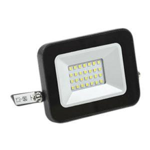 Прожектор светодиодный СДО 06-20 черный IP65 6500К IEK