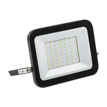 Прожектор светодиодный СДО 06-50 черный IP65 6500К IEK
