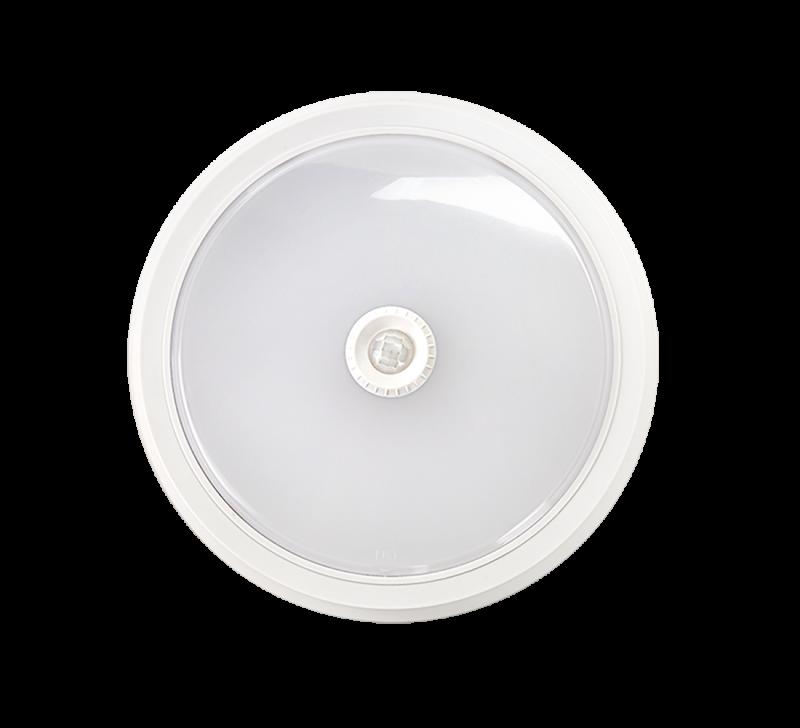 Светодиодный светильник СПП 8W 2012S 4000К IP54 с датчиком движения