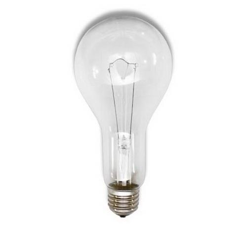 Лампа накаливания 150W (230-150 Т) А60 E27, термоизлучатель