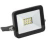 Прожектор светодиодный СДО 06-10 черный IP65 6500К IEK