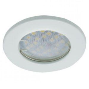Светильник встраиваемый плоский белый 30*80 MR16 DL90 GU5.3 Ecola Light