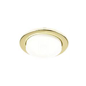 Светильник встраиваемый GCL-10GX53-H18-G золото
