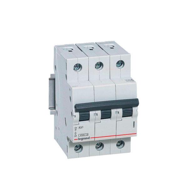 Автоматический выключатель RX3 C40A 4,5KA 3П С