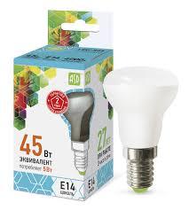 Лампа светодиодная LED-R39-standart 5Вт 230В Е14 4000K 450Лм ASD