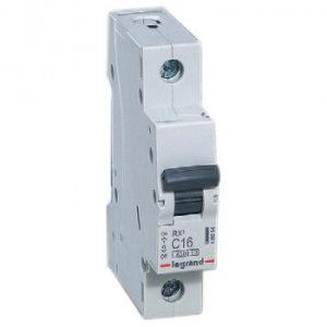 Автоматический выключатель RX3 C16A 4,5KA 1П С