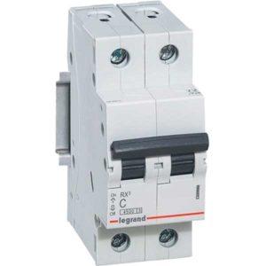 Автоматический выключатель RX3 C25A 4,5KA 2П С