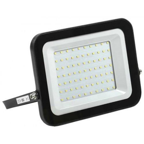 Прожектор светодиодный СДО 06-70 черный IP65 6500К IEK