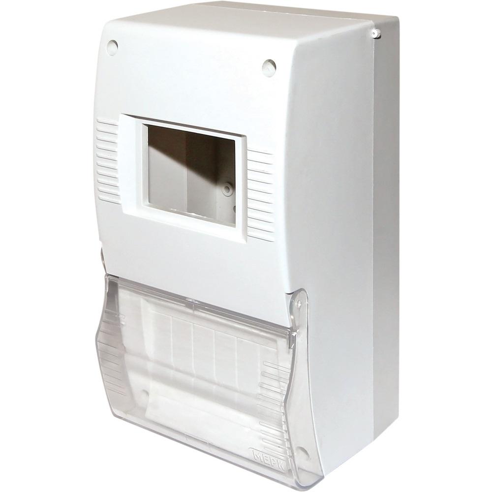 Щит квартирный ЩК26-004 2-6 модулей DIN с дверкой IP20TDM
